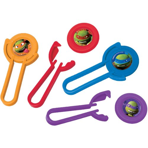 12-Piece Teenage Mutant Ninja Turtles Disc (Teenage Party Games Halloween)