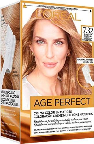 EXCELLENCE Age perfect tinte Rubio Dorado Perla Nº 7.32 caja 1 ud
