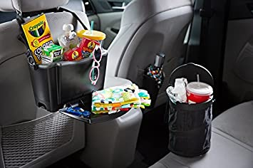 Leakproof Car Garbage Bin//Waste Basket Organizer Caddy Rubbermaid 3316-00 Automotive Cup Holder Trash Can