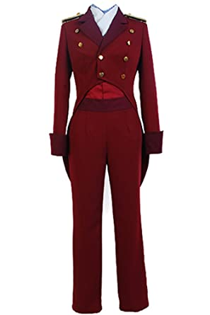Aldnoah. Zero Marciano Caballero cruhteo uniforme Cosplay costume ...