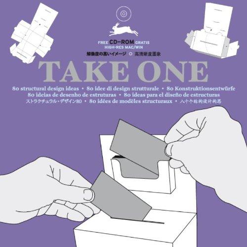 Take One : 80 Idées de modèles structuraux (1Cédérom) (Anglais) Broché – Illustré, 4 février 2008 VAN ROOJEN Agile Rabbit 9057681145 Innenarchitektur / Design