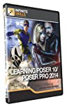 Learning Poser 10/Poser Pro 2014 Training DVD (PC/Mac)
