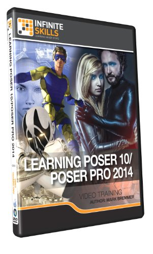 Learning Poser 10/Poser Pro 2014 - Training DVD