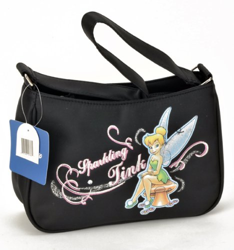 """Birthday Christmas Combo - Disney Tinkerbell Carryout Purse and Mickey Mouse 200 Piece Stickers, Size approximately 10"""" X 6"""" X 3"""""""