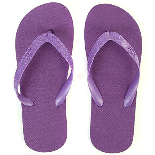 Zohula  Purple Flip-flops, Damen Zehentrenner violett violett