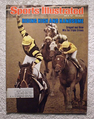 e Crown Winner! - Sports Illustrated - June 20, 1977 - Belmont Stakes, Horse Racing - SI (1977 Sports Illustrated Magazine)