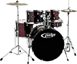 Pacific Drums by DW Z5 Shell Pack - Black Cherry
