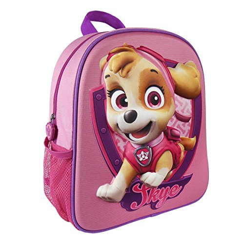 Paw Patrol 2100001964 31 cm Skye 3D Effect Junior Backpack