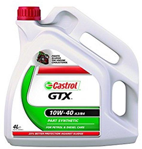 Castrol GTX 10W-40 - Aceite para motor de gasolina y diésel ...