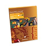 Clairefontaine Pastelmat Pad Achromatic Shades 360g 18x24cm, 12 Sheets