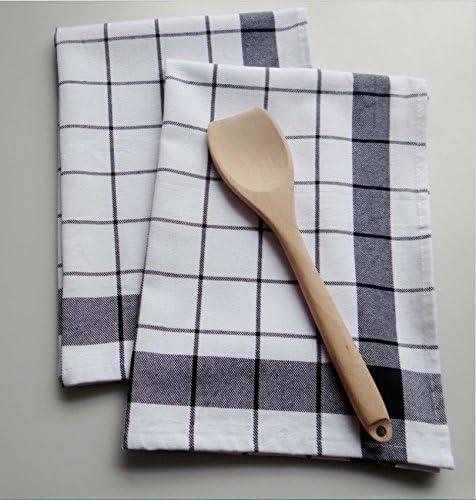 ZYJYScandinavian puro algodón rayas servilleta hotel banquete de ...