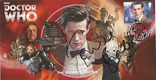 - Dr Doctor Who BBC Official 50th Anniversary Limited Edition Frances Barber/Madame Kovarian Signed First Day Stamp Cover - The Eleventh Doctor - Matt Smith
