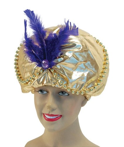 Arabian Hat With Beads & Jewels (Arabian Themed Dresses)