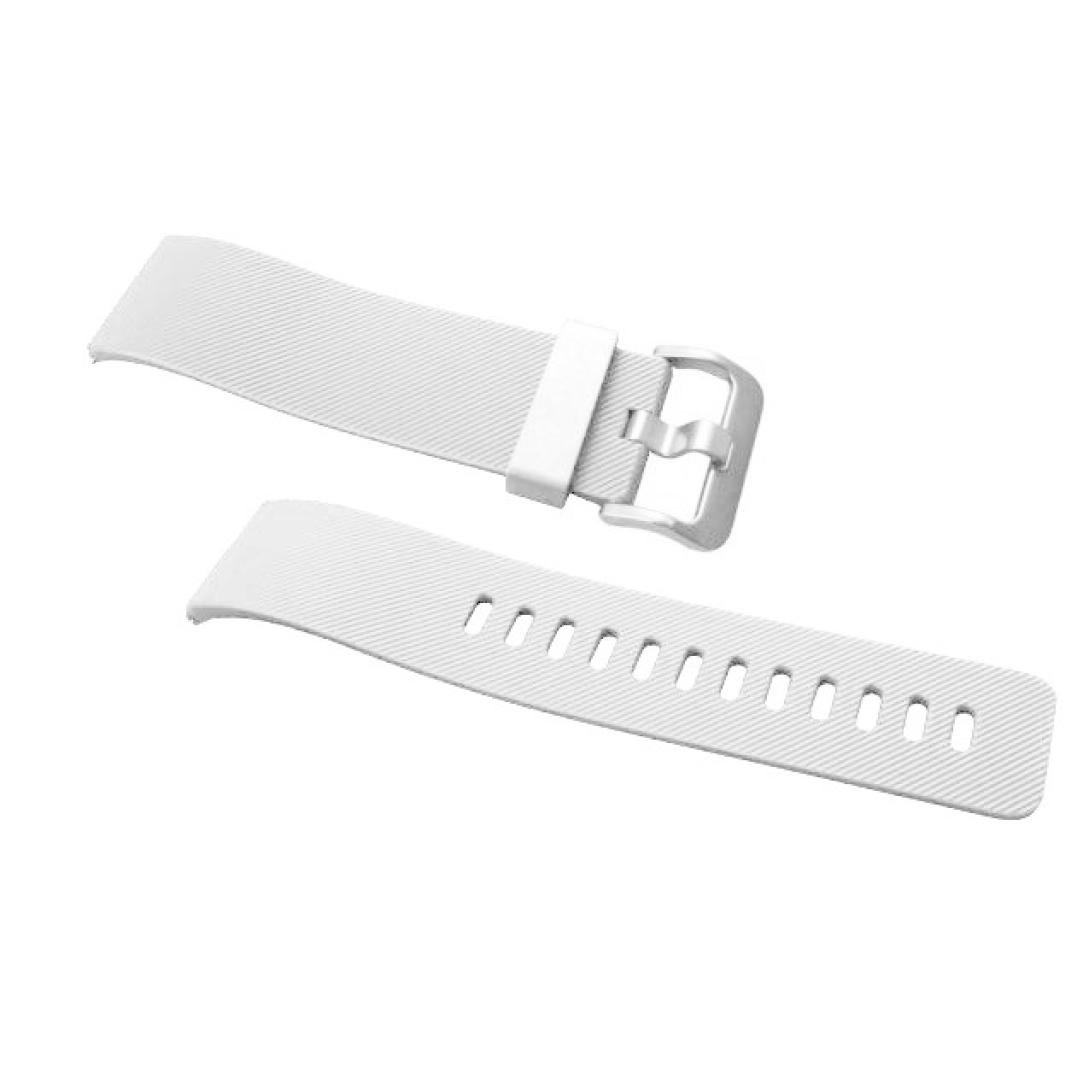 Amazon.com: Fitbit Blaze Smart Watch Band, Perman Soft Durable Silicone Watchband Replacement Wrist Strap for Fitbit Blaze White: Watches