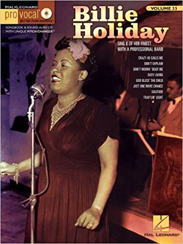 billie holiday pro vocal womens edition volume 33