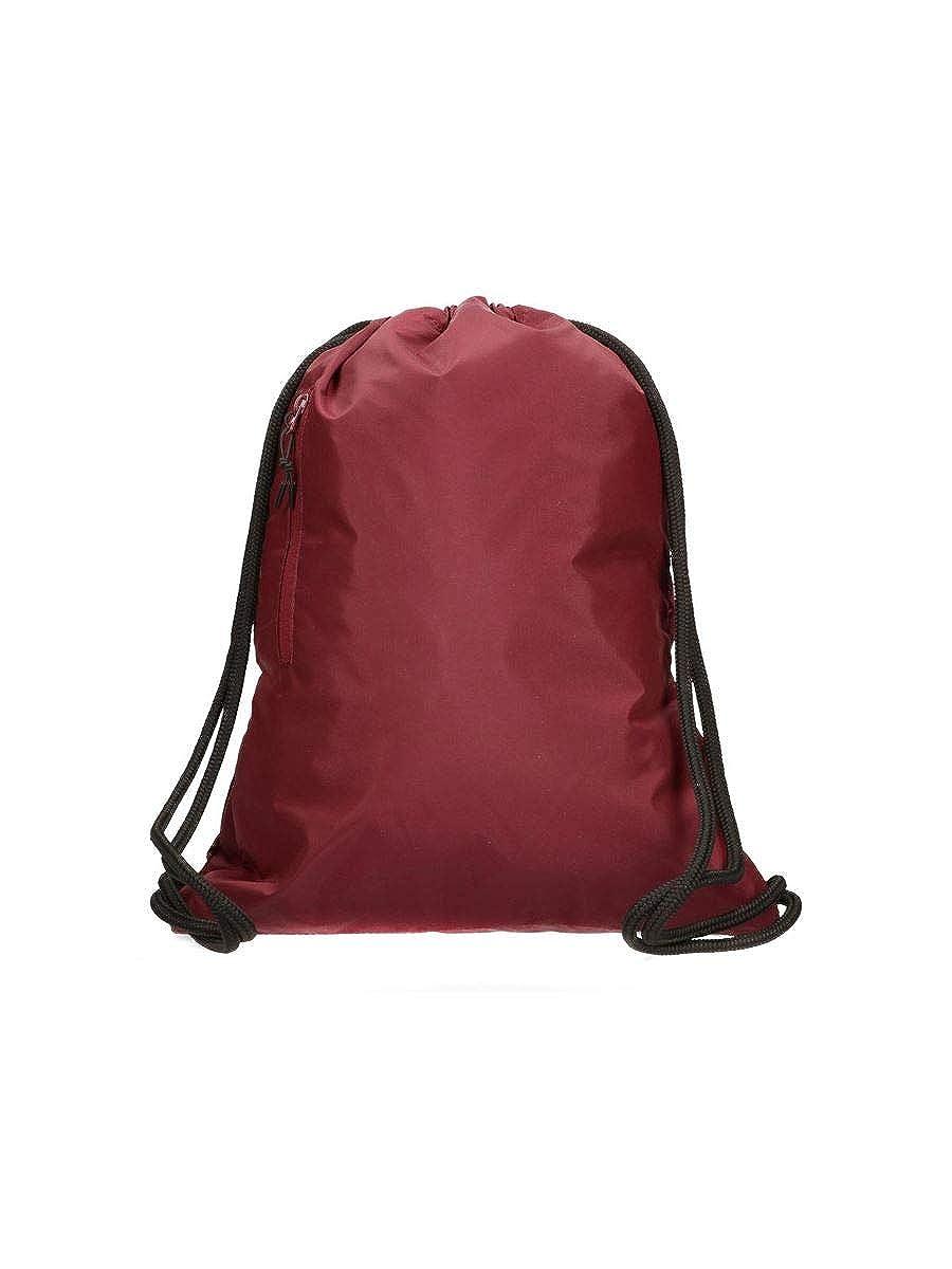 Converse Unisex sac de sport Flash Gymsack C40FGN10 Burgundy Bordeaux