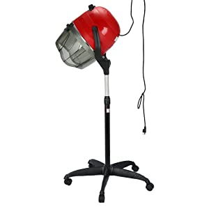 Anself 900W Professional Stand Hair Dryer, Steamer, Machine Hooded Equipment for Salon Dressing