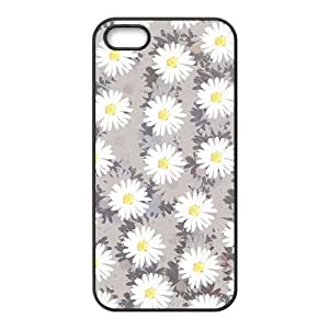 Customized Dual-Protective Case for Iphone 5,5S, Daisies Cover Case - HL-R652388