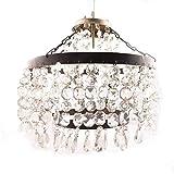 IndainShelf Handmade Decorative Finest Cut Glass Pendant Hanging Crystal Celling Lamp Chandelier