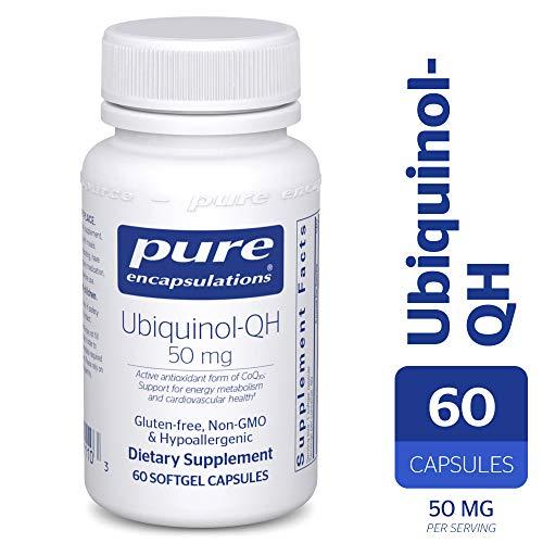 Pure Encapsulations - Ubiquinol-QH 50 mg -
