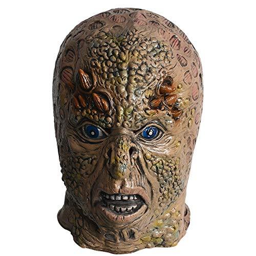 MSSJ Látex Figura Máscara Esquina de Halloween Monstruo Arnés ...