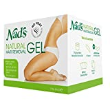 Nads Natural Hair Removal Gel, 6 oz
