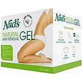 Nad's Natural Hair Removal Gel Refill for Kit No Heating Waxing