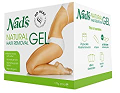Natural Hair Removal Gel is the original no-heat formula that warms with body heat as it's smoothed onto the skin and waxed away – along with your unwanted hair – to leave the skin salon smooth for up to four weeks. Best of all, if you make a...