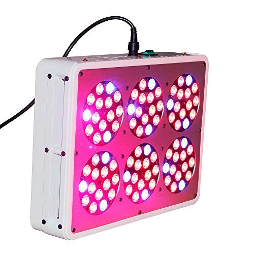 The Bud Grower Apollo-6 Full Spectrum 270W (903W) LED Sun Lamp Grow Light for Indoor Growing Plants & Garden Greenhouse