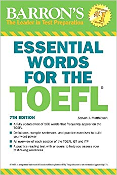 Essential Words for the TOEFL, 7th Edition