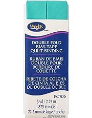 Wrights Aquamarine II Double Fold Quilt Binding 7/8 x 3 yd