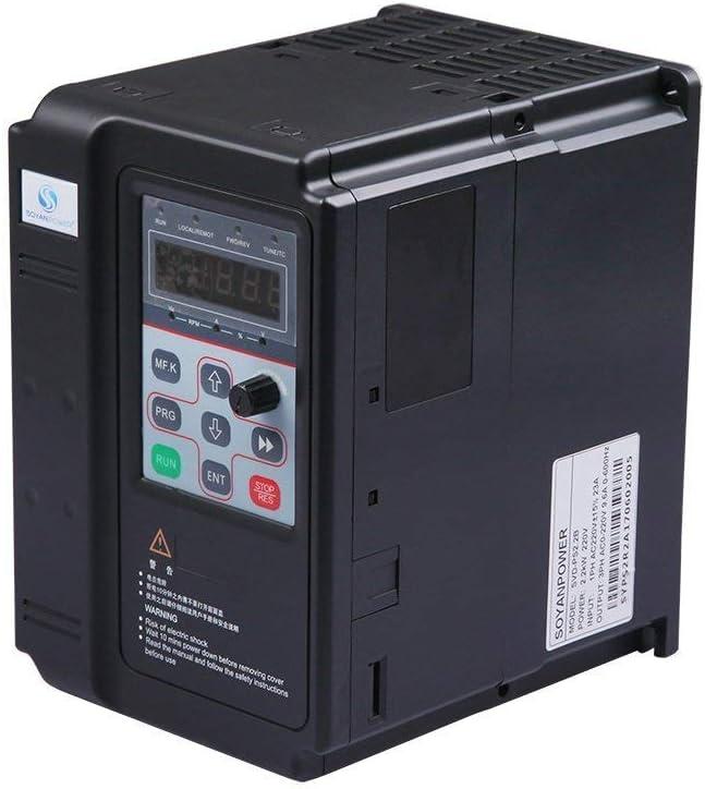 GENORTH SVD-PS serie VFD Inverter VFD unidad 2.2 KW 220V 3HP 9.6 A ...