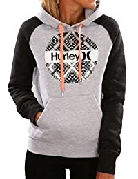 CFD Womens Fashion Letter Printed Hooded Drawstring Sweatshirt