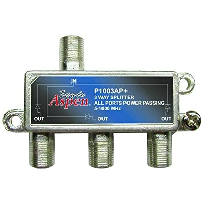 Eagle Aspen 500303 P1003ap+ 1000 Mhz Splitter (3 Way)