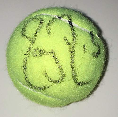 Roger Federer Signed Autograph Tennis Legend Champion New Ball With Coa - Autographed Tennis Balls