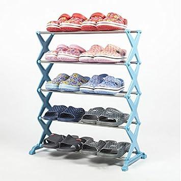 Vinmax Diy Edelstahl 5 Stufe Schuhe Rack Regal Einfaches Tool