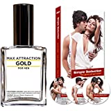 Max Attraction Gold for Men Seduction Kit - Pheromones to Attract Women and DVD Special Offer