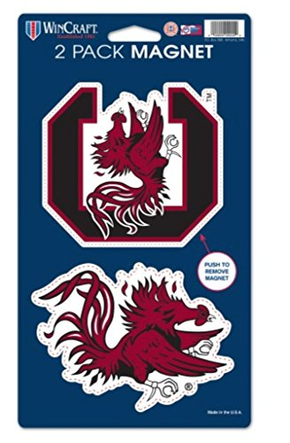 outh Carolina Gamecocks 2-pack Die Cut Magnet Set (South Carolina Gamecocks Magnet)