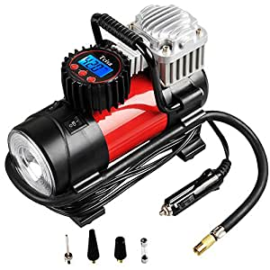 Amazon.com: Portable Air Compressor Pump 150 PSI, Tcisa