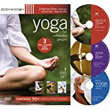 Yoga for Inflexible People 3 DVD Set (50 Yoga Workout Video Routines)