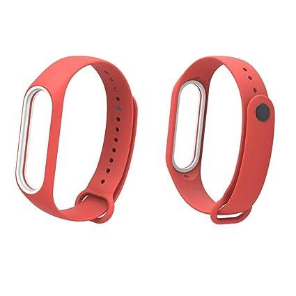 Pulsera Xiaomi Mi Band 3 Correas, ☀️Modaworld Banda de Reloj de Correa de Pulsera