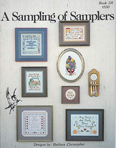 Sampler Counted Cross Stitch Leaflet - Pegasus Originals Sampling Samplers 1 Counted Cross Stitch Leaflet