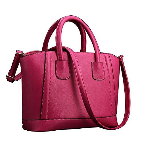 FAIRYSAN - Bolso al hombro para mujer rosa rosa