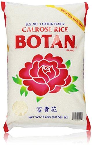 Botan Calrose Rice, 15 Pound