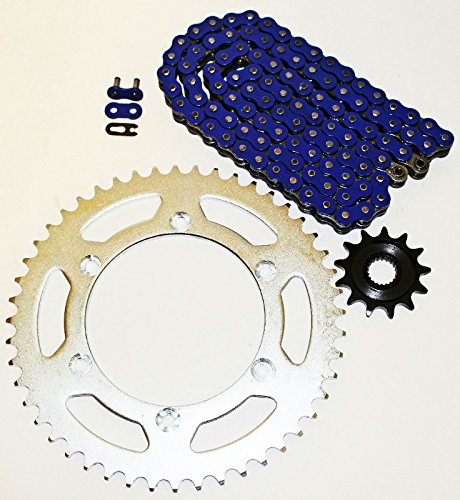 2014 O-ring Chain - Yamaha 2005-2014 YZ125 / 2001-2013 WR250 F Blue Chain And Sprocket 12/49 114L