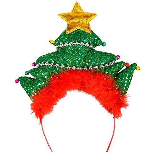 Holiday Christmas Tree Headband Party Supply (1 per order) ()