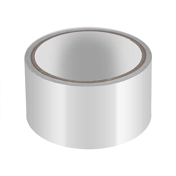 Aluminiumband 32ft x 2inch Silber Aluminiumfolie Klebeband Sealing Hitzeschild Band für Kanal Metall Reparatur Isolierung