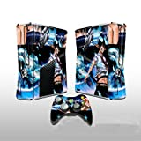 Ao no Exorcist Design Vinyl Skins for Xbox360 Decorative Protector Sticker (Including 2 Pieces Controllers Stickers)