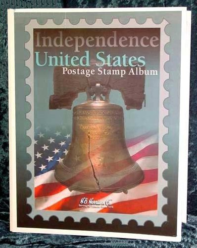 Independence US Stamp Album (212pg) by H.E. Harris
