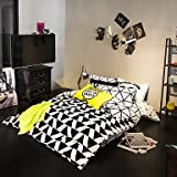 Quilt cover 100% Cotton duvet cover Sets black and white Bedding Set Queen/Double/Full Size , queen